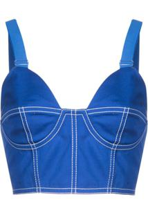 Givenchy Sutiã Bustiê - Azul
