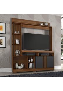 Estante Para Tv Até 49 Polegadas Sedução Candian Jcm Móveis Rovere/Grafite