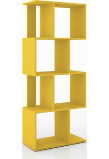 Estante/ Rack Retrô Móvel Bento Amarelo