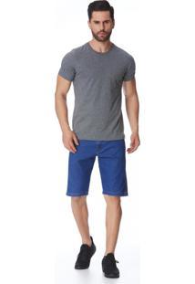 Bermuda Jeans Zait Tradicional Abel Azul Marinho