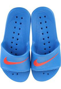 Chinelo Infantil Nike Kawa Shower Bgp - Masculino-Azul