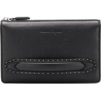 Farfetch. Salvatore Ferragamo Clutch  Firenze  De Couro - Preto e777739ddb