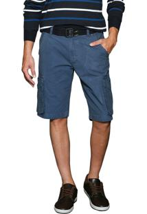 Bermuda Young Style Jeans Sarja Color Cargo