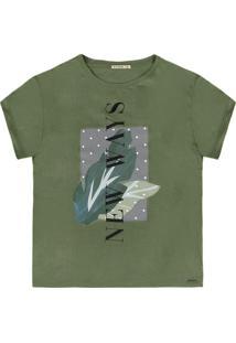 Camiseta Dzarm Verde - Kanui
