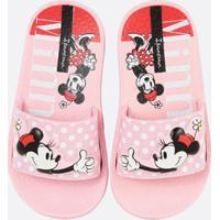 3b28dc4625f167 Chinelo Para Meninas Minnie Vermelho infantil | Shoes4you