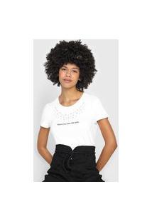 Camiseta Enfim Pedraria Branca