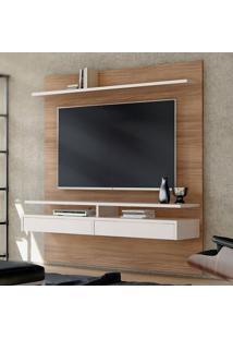 Painel Para Tv Até 65 Polegadas Smart Noce E Off White 180 Cm