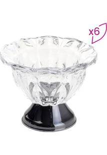 Jogo De Bowls Para Sobremesa Louise- Cristal & Pretowolff