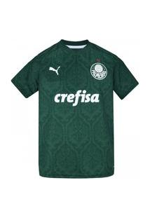 Camisa Do Palmeiras I 2020 Puma - Infantil
