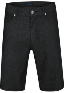 Bermuda Jeans Active Preta