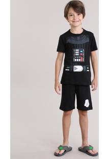 Pijama Carnaval Darth Vader Preto