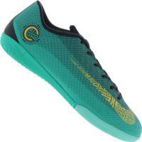 65539582c0 Centauro. Chuteira Futsal Nike Mercurial Vapor X 12 Academy Cr7 Ic - Adulto  - Verde Claro Preto