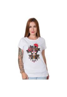 Camiseta Butterfly Girl Branco