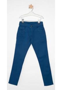 Calça Jeans Infantil Express Gavi Masculina - Masculino-Azul