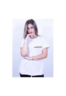 Camiseta Corte A Fio Bilhan Waterman Branca