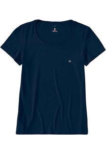 Camiseta Feminina Malwee 1000079140 02023-Azul-Mar
