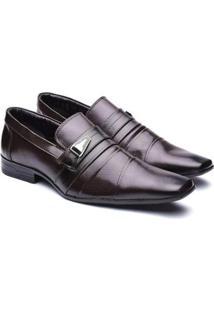 Sapato Social Bico Fino Conforto Macio Dia A Dia Masculino - Masculino