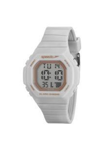 Relógio Digital Speedo Unissex - 80615L0Evnp4 Branco