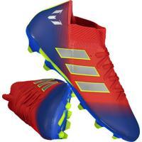 cfd27437a2 Chuteira Adidas Nemeziz Messi 18.3 Fg Campo Vermelha