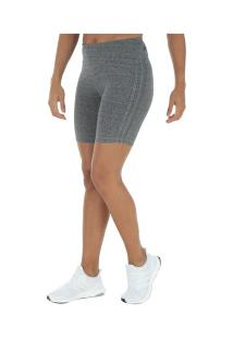 Bermuda Adidas M 3S Tight - Feminina - Cinza Escuro