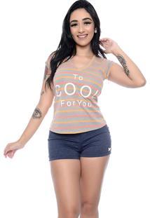 Camiseta Nathalia Freitas Juliana Estampado