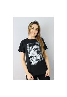 Camiseta Leão Tribo Judá Black