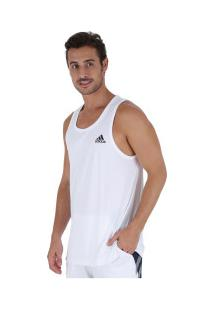 Camiseta Regata Adidas Sport Tank - Masculina - Branco