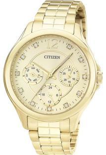 Relógio Analógico Tz28360G- Dourado- Citizencitizen