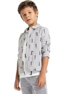 Camisa Tigor T. Tigre Bege