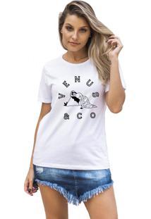 Camiseta Feminina Joss Venus Branco
