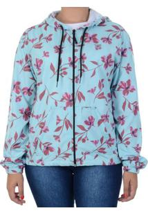 Jaqueta Billabong Cherry Flower Verde / G