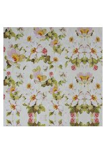 Papel Parede Flores Brancas 1,50 X 0,60
