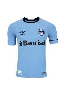 Camisa Umbro Grêmio Oficial Charrua 2018 Infantil Azul