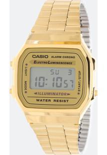 Relógio Unissex Casio Vintage A168Wg 9Wdf Digital