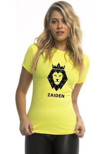 Camiseta Poliamida Zaiden Isla Leão Preto