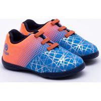 7412f69dfd Chuteira Futsal Ortopé Infantil S-Control Azul 23
