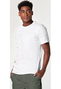 Camiseta Masculina Slim Em Malha De Algodão Botonê