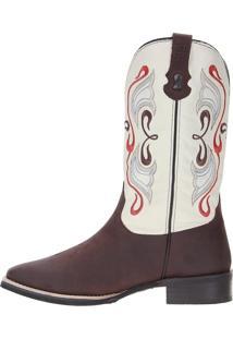 Bota Via Boots Vermelho