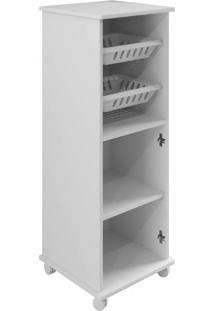 Armário Cozinha Com Fruteira Paraná Arte Móveis -Branco