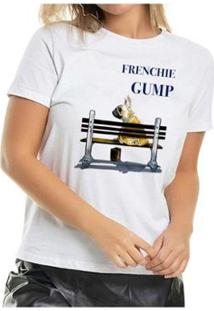 Camiseta Frenchie Gump Buddies Feminina - Feminino