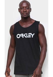 Regata Oakley Mark Ii Tank Masculina - Masculino-Preto