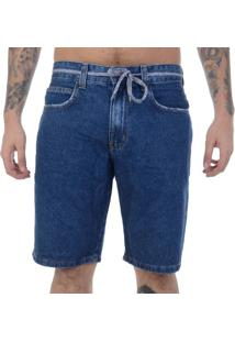Bermuda Jeans Element Walk Big Jean - Marinho / 38