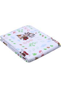 Cobertor Incomfral Turma Da Mônica Branco