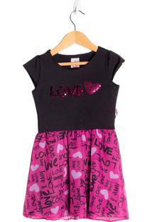 Vestido Infantil Beijinho Pink - 4