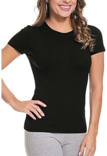 Camiseta Feminina Malwee 1000004500 00004-Preta