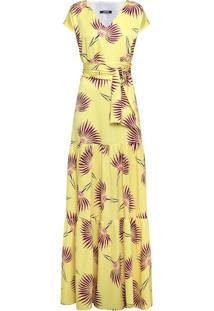 Vestido Longo Floral Acacia