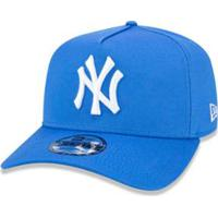 ad03529b388bc Boné 940 New York Yankees Mlb Aba Curva Snapback New Era - Masculino-Azul