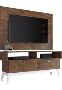 Rack Com Painel Para Tv De Até 49 0805P - Genialflex - Demolição / Branco