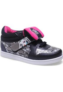 Sneaker Fem Grendene 21135 Sneaker Monster High Branco/Preto