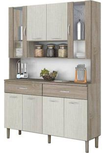 Cozinha Compacta Kits Golden Com 8 Portas E 2 Gavetas Em Mdp